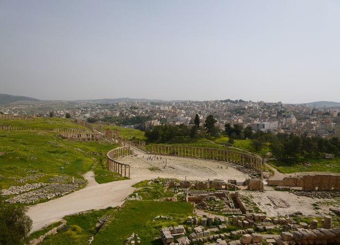 Jerash nye og gamle