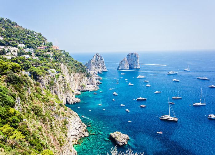 Faraglionklippene ved Capri