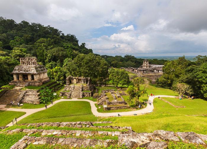 Palenque ruiner