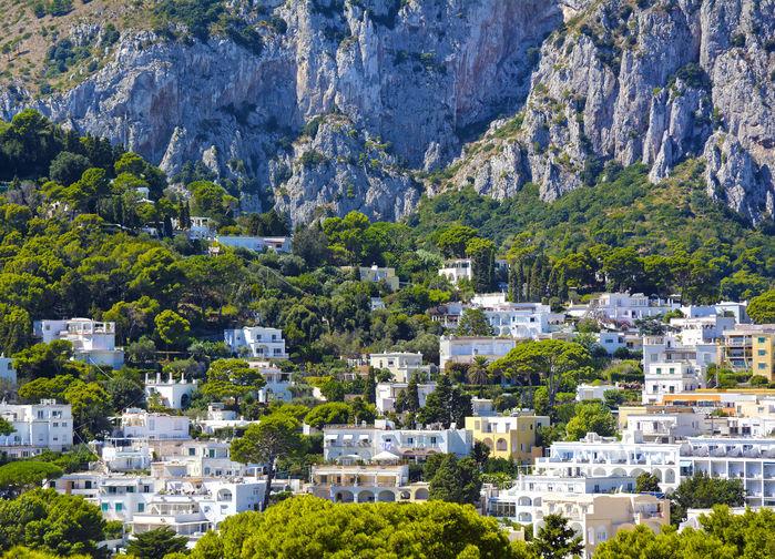 Tradisjonelle hus på Capri