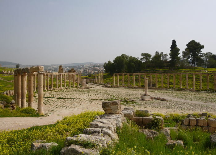 Torget i Jerash
