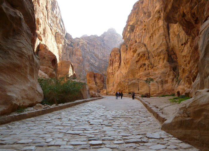 Kløften mot Petra