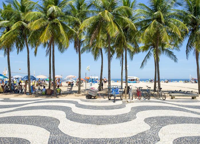 Avenida Atlântica i Rio