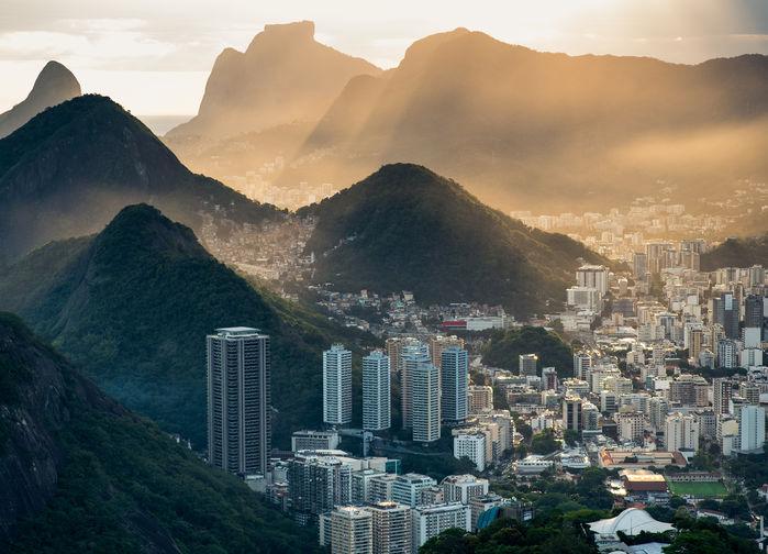 Rio, sett ovenfra